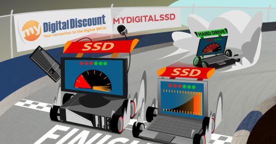 Upgrade your computer device with a MyDigitalSSD SSD by MyDigitalDiscount.com