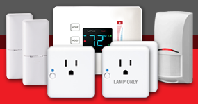 The MyDigitalDiscount Home Automation Quick Start Pack includes a thermostat, motion sensor 2 times window or door sensor, 2 times lamp modules and a appliance module