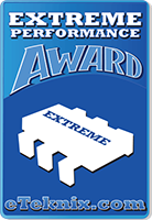 eTeknix Extreme Performance Award Winner