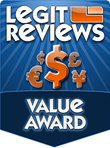 Legit Reviews' Value Award