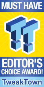 TweakTown Must Have Editor's Choice Award