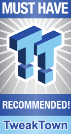 TweakTown Silver Recommended Award