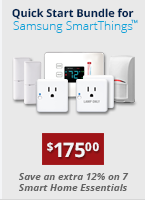 Home Automation Quick Start Bundle for Samsung SmartThings only $175.00