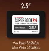 2.5 inch Super Boot 2 MyDigitalSSD SSD