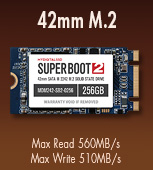 42mm M.2 NGFF Super Boot 2 MyDigitalSSD SSD