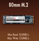 80mm M.2 NGFF Super Boot 2 MyDigitalSSD SSD