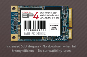 View All MyDigitalSSD 50mm BP4 SATA III 6G mSATA SSDs