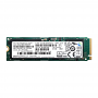 256GB Samsung SM961 NVMe PCIe Gen 3 x4 M.2 2280 SSD Front View