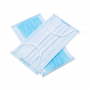 ENHUI Disposable 3-Ply Non-Woven Medical Grade Earloop Face Masks - Front and Back