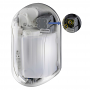 XinDa 1100 ml Automatic No-Touch Infrared Hand Sanitizer Soap Dispenser - AA Battery Powered