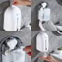 XinDa 1100 ml Automatic No-Touch Infrared Hand Sanitizer Soap Dispenser - Refill Steps