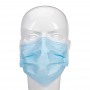 Disposable Non-Woven Protective Earloop Face Mask - Front View