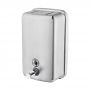 Norye Wall-Mount 1200ml Satin Finish 304 Stainless Steel Soap and Sanitizer Dispenser