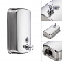 Norye Wall-Mount 1200ml 304 Stainless Steel Soap and Sanitizer Dispenser with B-Style Nozzle