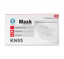 50 Pack of Nan Qi Xing KN-1 KN95 GB2626-2006 Disposable Non-Woven Earloop Protective Face Mask Front