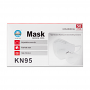 50 Pack of Nan Qi Xing KN-1 KN95 GB2626-2006 Disposable Non-Woven Earloop Protective Face Mask Box