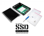 """Each MyDigitalSSD mSATA to 2.5"""" SSD Adapter Enclosure includes screws and screwdriver for easy installation"""