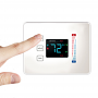 Centralite Pearl touchscreen thermostat works with ZigBee and Samsung SmartThings