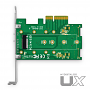 MyDigitalSSD UX Universal M.2 PCIe NVMe SSD to PCI Express 3.0 x4 Adapter Card