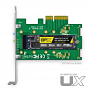 MyDigitalSSD UX Adapter with BPX 80mm 2280 M.2 PCIe Gen3 x4 NVMe SSD - SSD not included