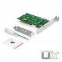 MyDigitalSSD UX Adapter includes Low Profile PCIe Bracket and M.2 SSD Mounting Screw Pack