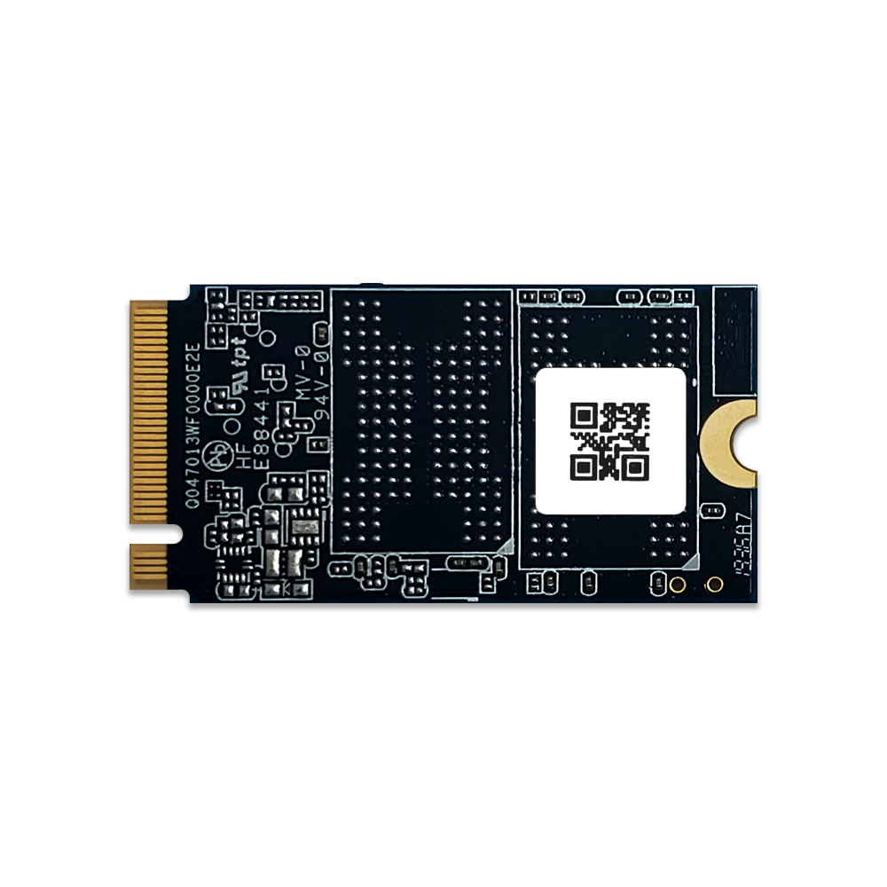 480GB MyDigitalSSD SBXe Single-Sided PCIe 3.1 x4 NVMe 2242-S2-M M.2 SSD Back