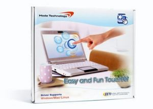 "Hoda Technology 8.9"" Solderless Easy and Fun TouchKit Touch Screen Kit for Acer Aspire One Netbooks - ACER-89-TouchKit"