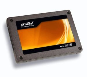 "Crucial 128GB C300 RealSSD 2.5"" SATA Solid State Drive w/ 6GB/s Marvell BJP2 Controller - CTFDDAC128MAG-1G1"