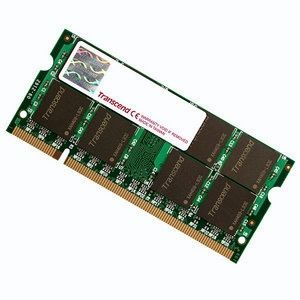 Transcend 2GB PC6400 DDR2 800MHz SODIMM Memory - 2048MB for ASUS Eee PC / Dell Mini 9 - JM800QSU-2G
