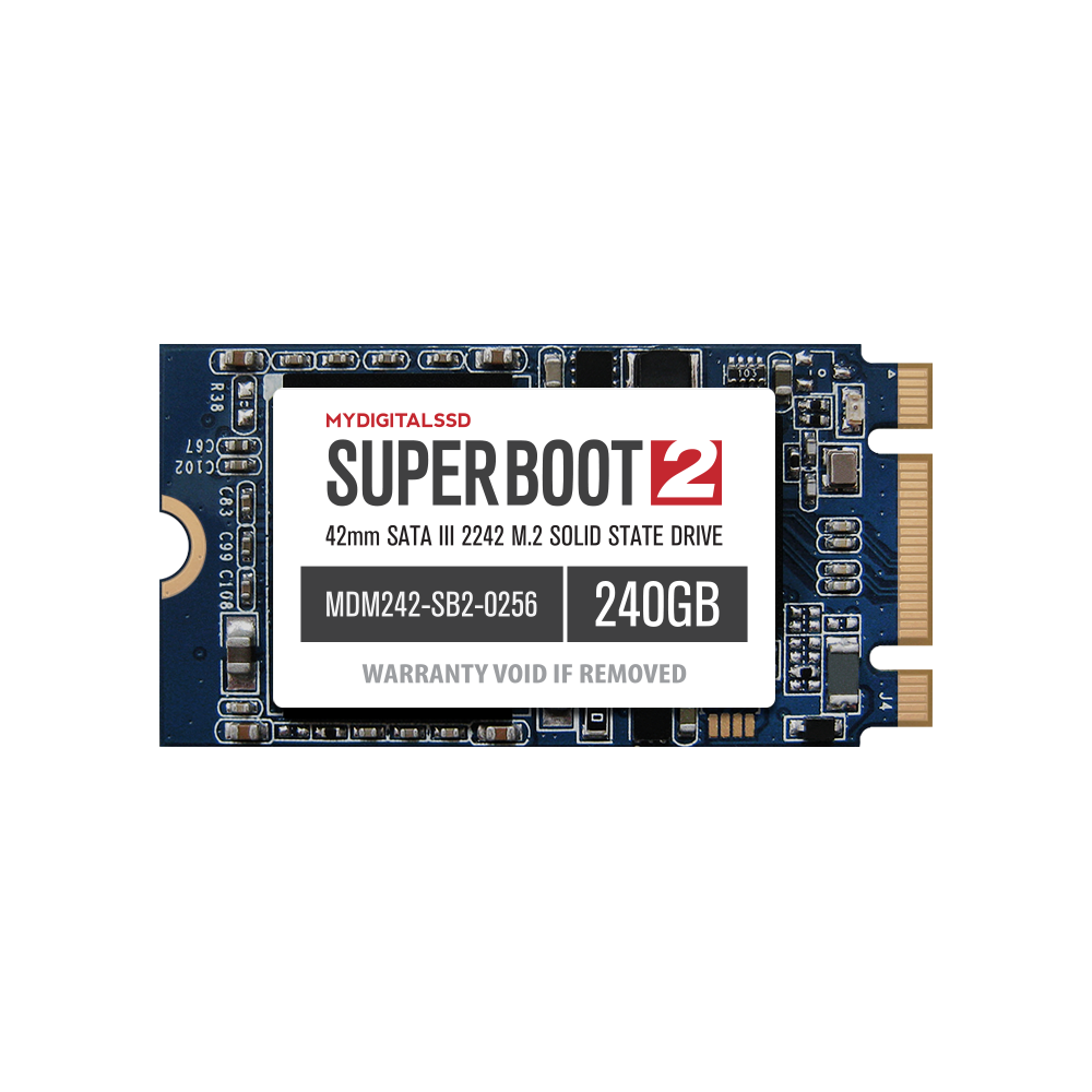MyDigitalSSD 240GB (256GB) Super Boot 2 (SB2) 42mm (2242) SATA