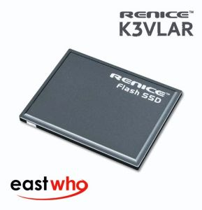 "Renice 60GB K3VLAR E (K3 E) 1.8"" PATA 40-Pin Zif SSD Solid State Drive for PC and Mac - RN-K3E-Z1864"