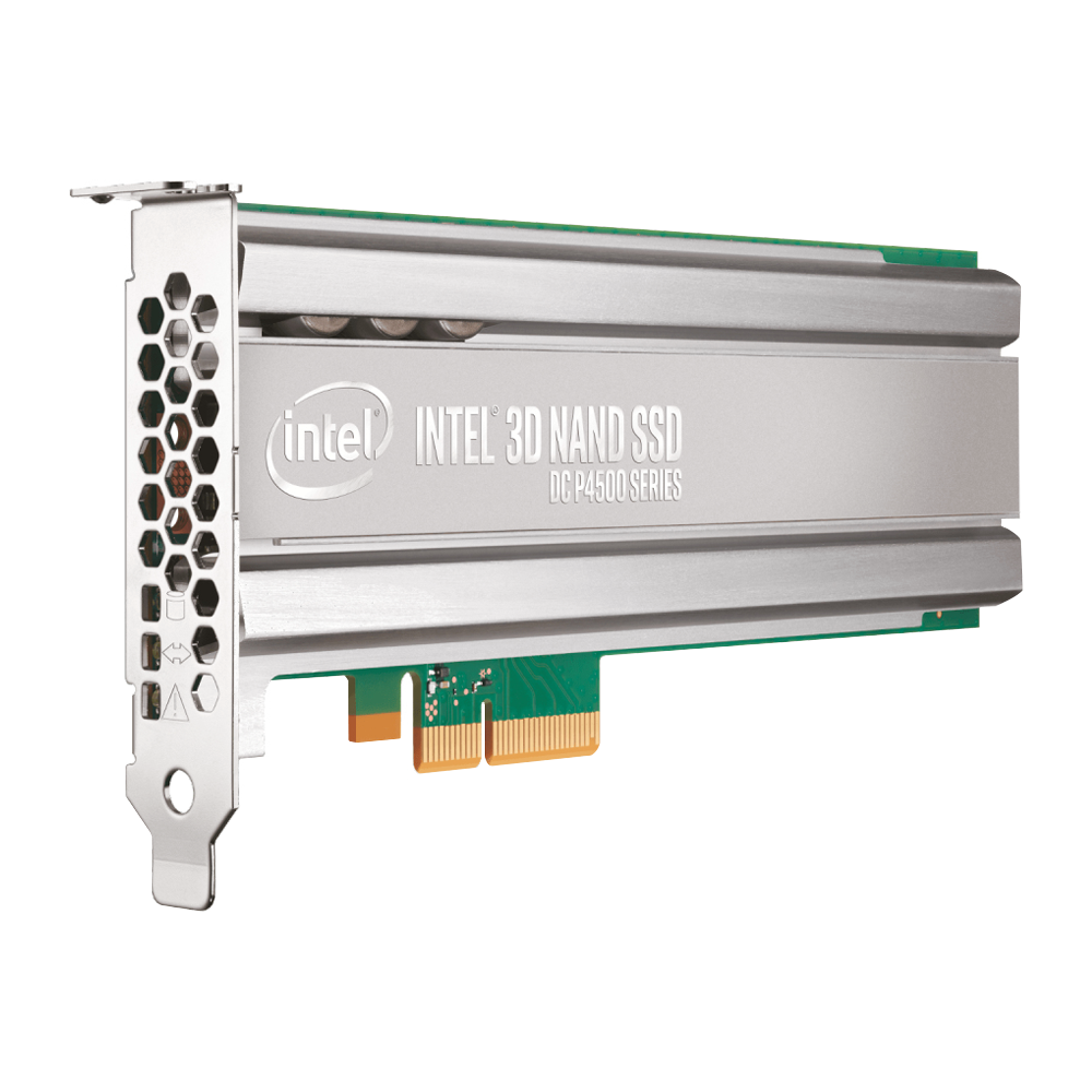Intel DC P4500 Series TLC PCIe 3.1 x4 NVMe HHHL AIC Server SSD