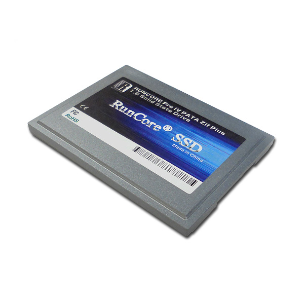 "RunCore 64GB Pro IV 1.8"" 5mm PATA Zif SSD Solid State Drive for PC and Mac - RCP-IV-Z1864-MCA"