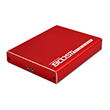 MyDigitalSSD BOOST External USB 3.1 SuperSpeed Plus UASP Dual mSATA SSD RAID Enclosure - Red - MDMSR-BST-USB3-RD
