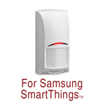Bosch Security Motion Sensor PIR Pet Immune for Samsung SmartThings and other Smart Hubs with Zigbee Wireless - ISW-ZPR1-WP13