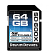 Delkin Devices 64GB 600X UHS-I Secure Digital SDXC Card - DDSD600-64GB