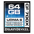 Delkin Devices 64GB CF700 UDMA 6 700X CompactFlash Card - DDCF700-64GB