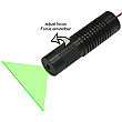 DAVID Vision Systems 15mW 532nm 90� Green Line Laser with Adjustable Focus - LD532-15-5-F(22x80)