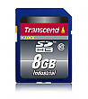 Transcend 8GB Industrial Temp Class 10 SDHC Card - TS8GSDHC10I