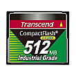 Transcend 512MB 200X Industrial Temp CF200I CompactFlash Card - TS512MCF200I