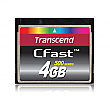 Transcend 4GB 500X CFast 500 Series CompactFlash Card - TS4GCFX500