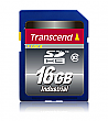 Transcend 16GB Industrial Temp Class 10 SDHC Card - TS16GSDHC10I