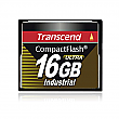 Transcend 16GB 100X Industrial Temp CF100I CompactFlash Card - TS16GCF100I