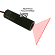 DAVID Vision Systems 16mW 650nm 90� Red Line Laser with Adjustable Focus - LC650-16-3-F(14x55)