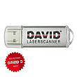 DAVID Laserscanner Pro Edition Software USB - Version 3 - DL-PRO3-USB