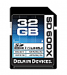 Delkin Devices 32GB 600X UHS-I Secure Digital SDHC Card - DDSD600-32GB