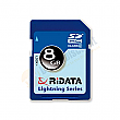 RiDATA 8GB Lightning Series Class 2 SDHC Card - RDSDHC8G-LIG2