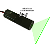 DAVID Vision Systems 5mW Green Line Laser with Adjustable Focus - LC532-5-3-F(16x65)