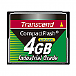 Transcend 4GB 200X Industrial Temp CF200I CompactFlash Card - TS4GCF200I