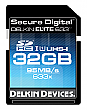 Delkin 32GB 633X ELITE633 UHS-1 SDHC Flash Memory Card - DDSDELITE633-32GB